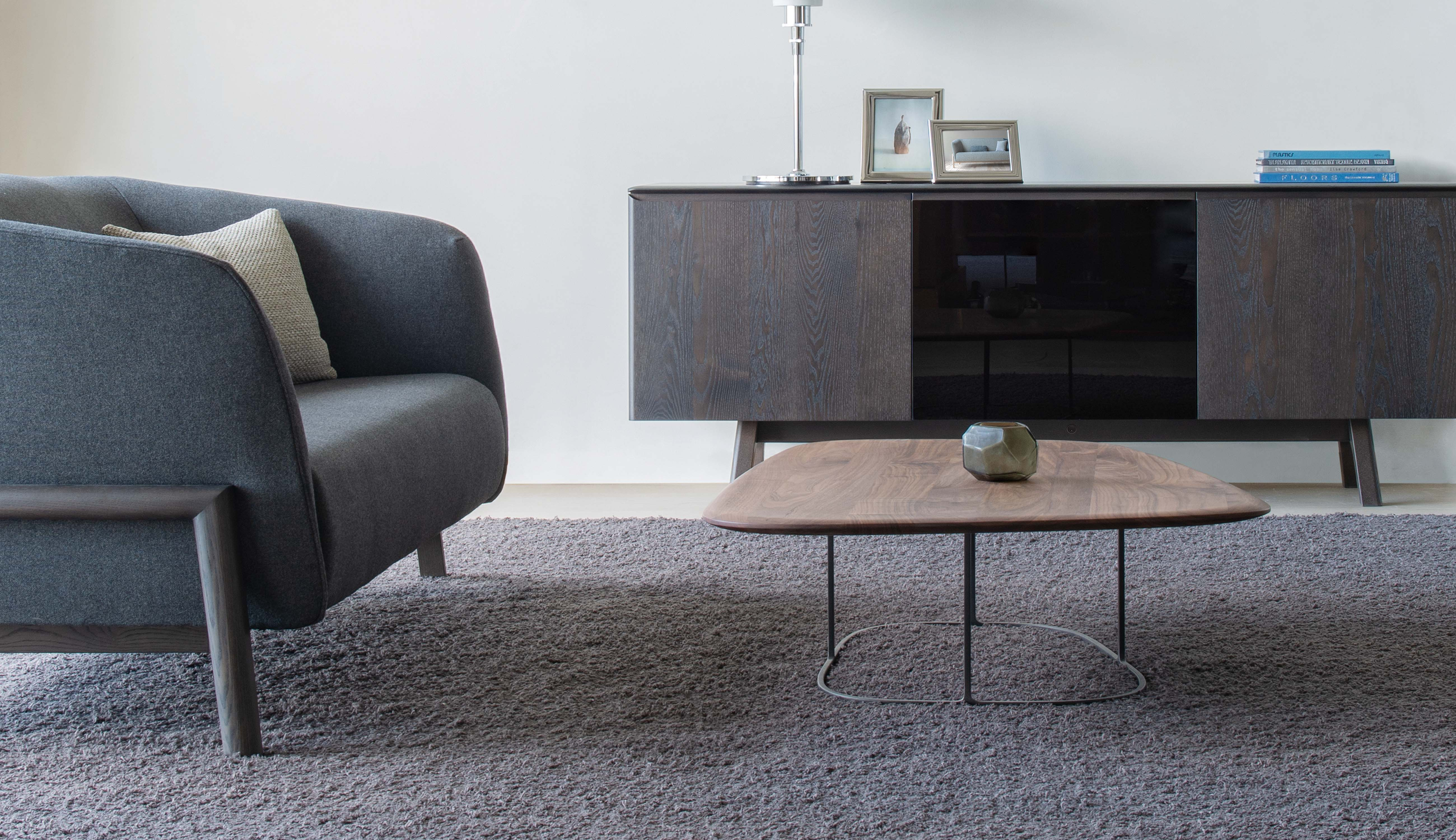 TEN sofa and side tables, Conde House